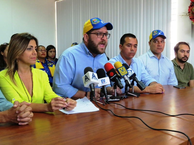 Marcano agradeció el respaldo del pueblo de Aznoátegui a la Unidad Foto: Luis Méndez U