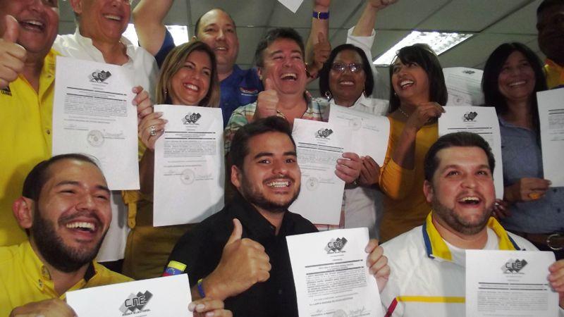 Los diputados electos rechazaron la campaña del gobierno en su contra Foto: Cortesía
