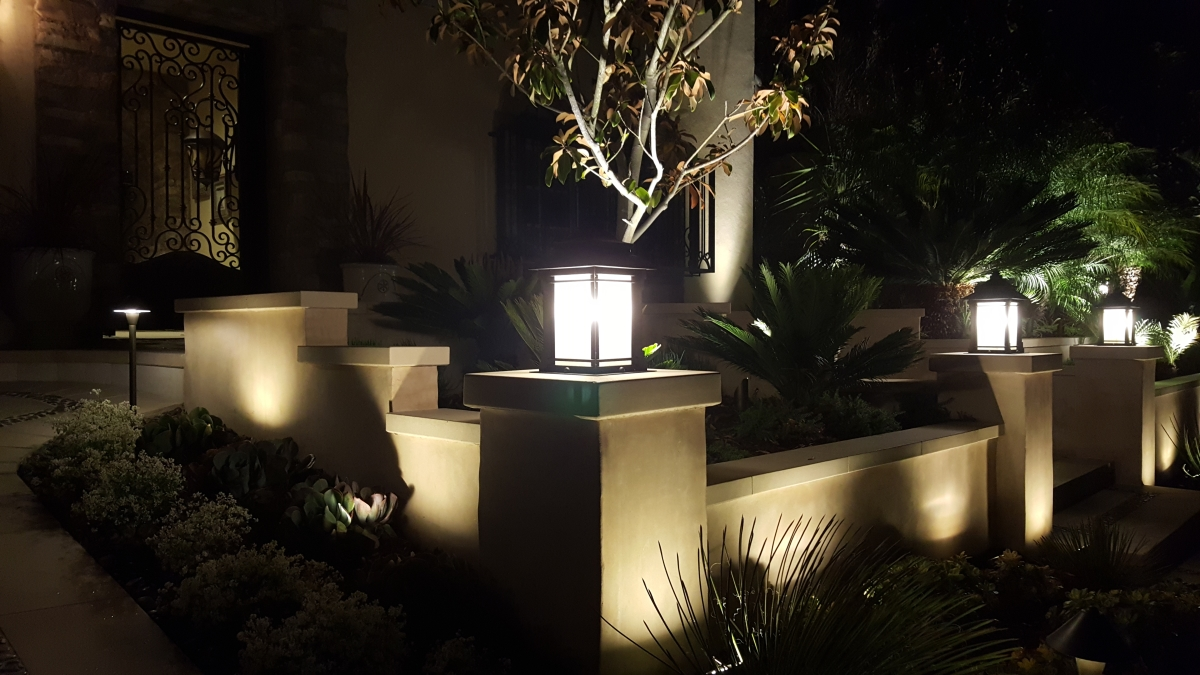 Architectural lighting, amazing, green , up lighting spot lighting