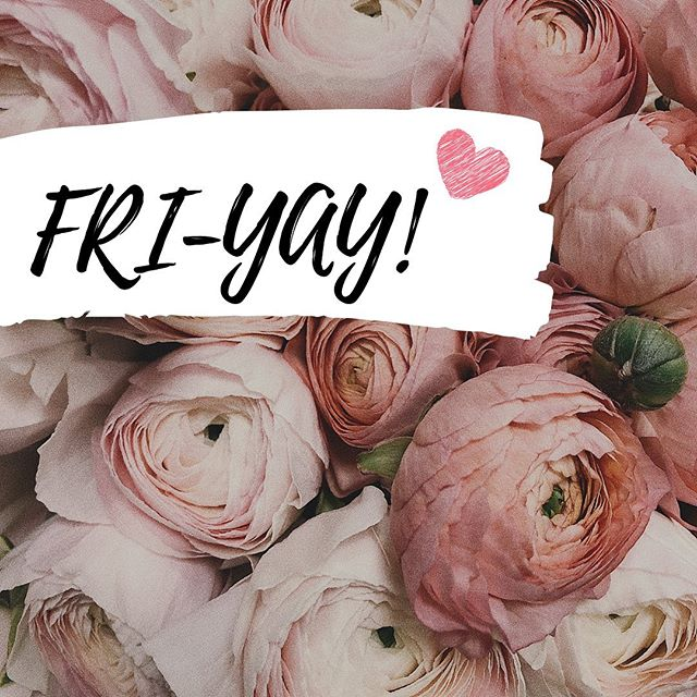 Happy Friday 💕🌷 Hope everyone has a fabulous weekend ✨