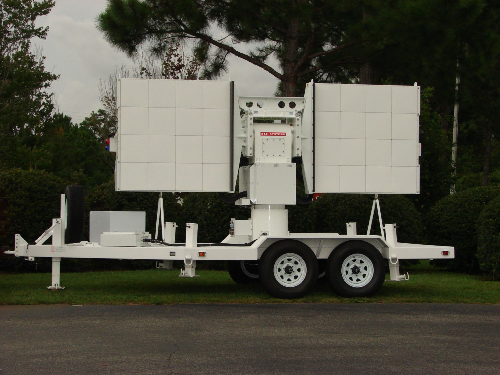 Transportable CW Doppler Radar System