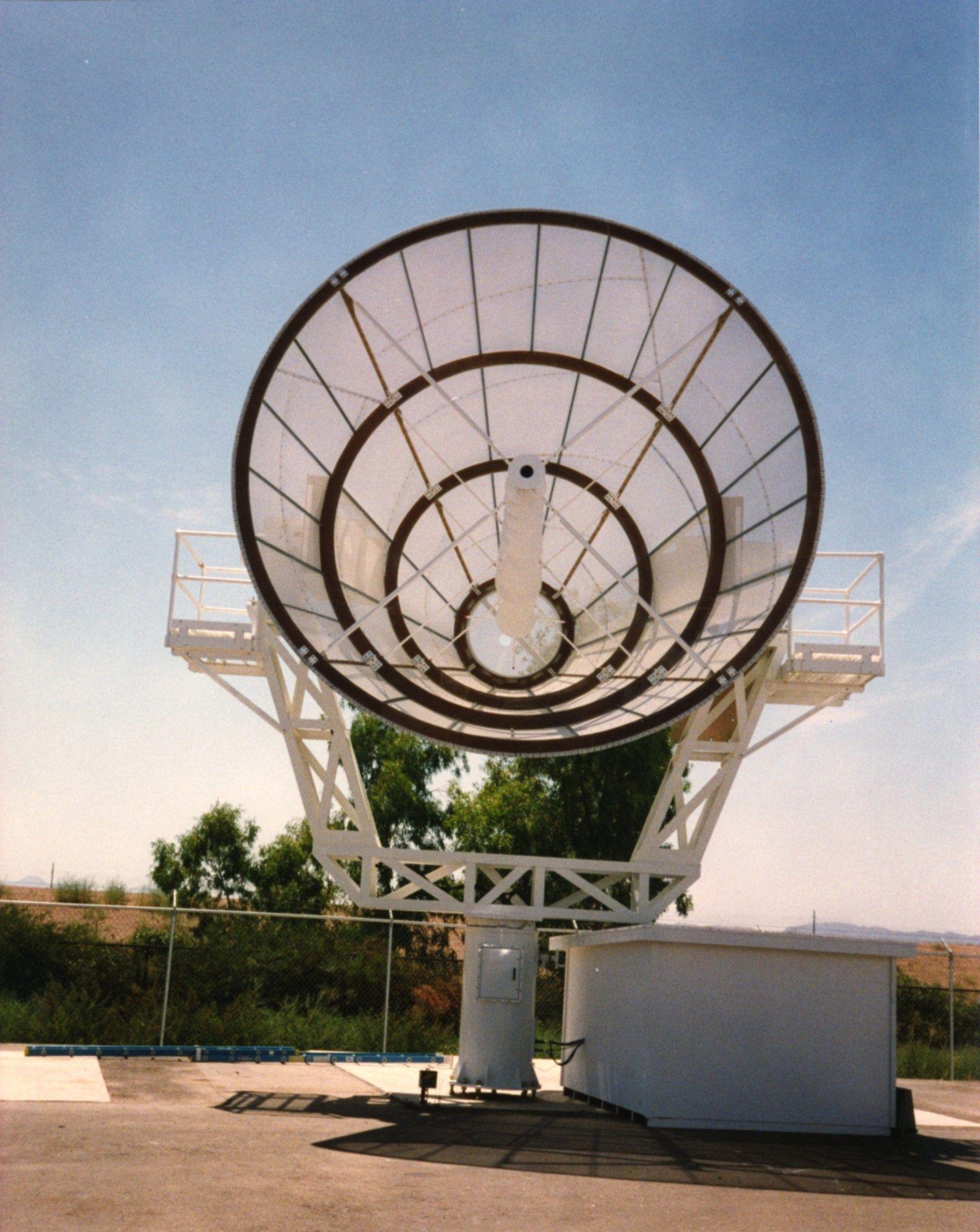 Satellite Communication Antenna Pedestal