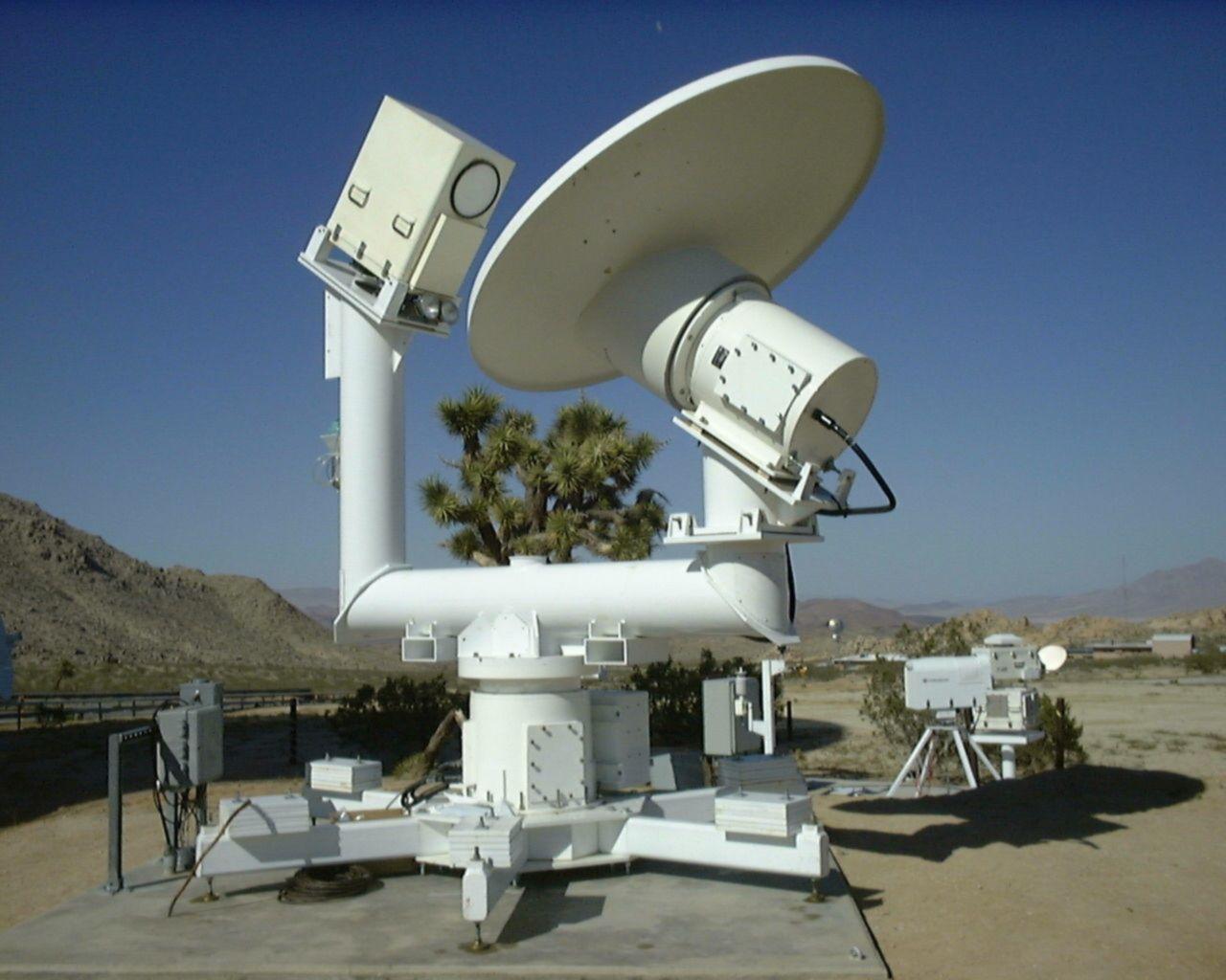 Water Vapor Radiometer Pedestal