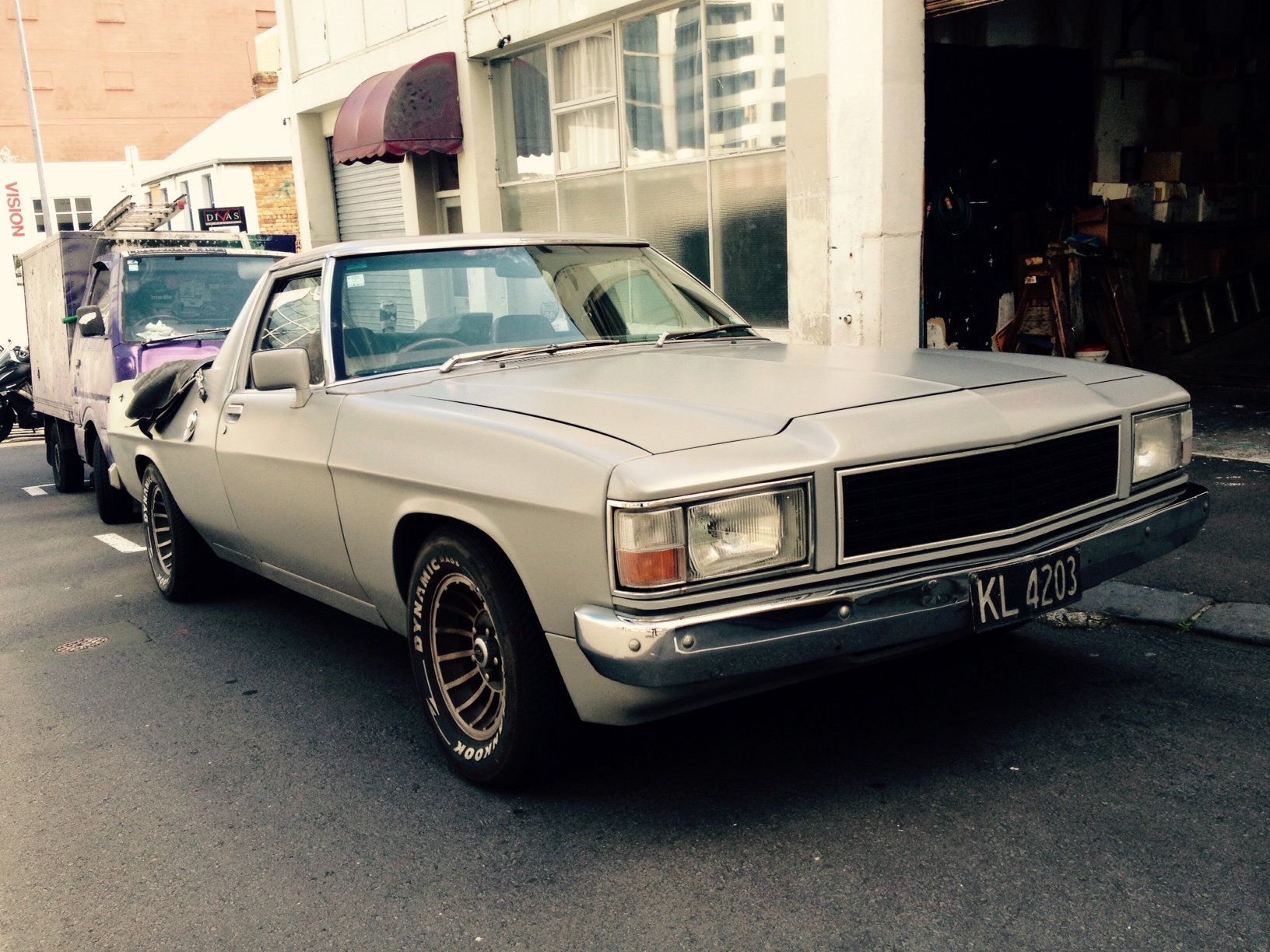 Bill's mid life crisis, the mighty Holden
