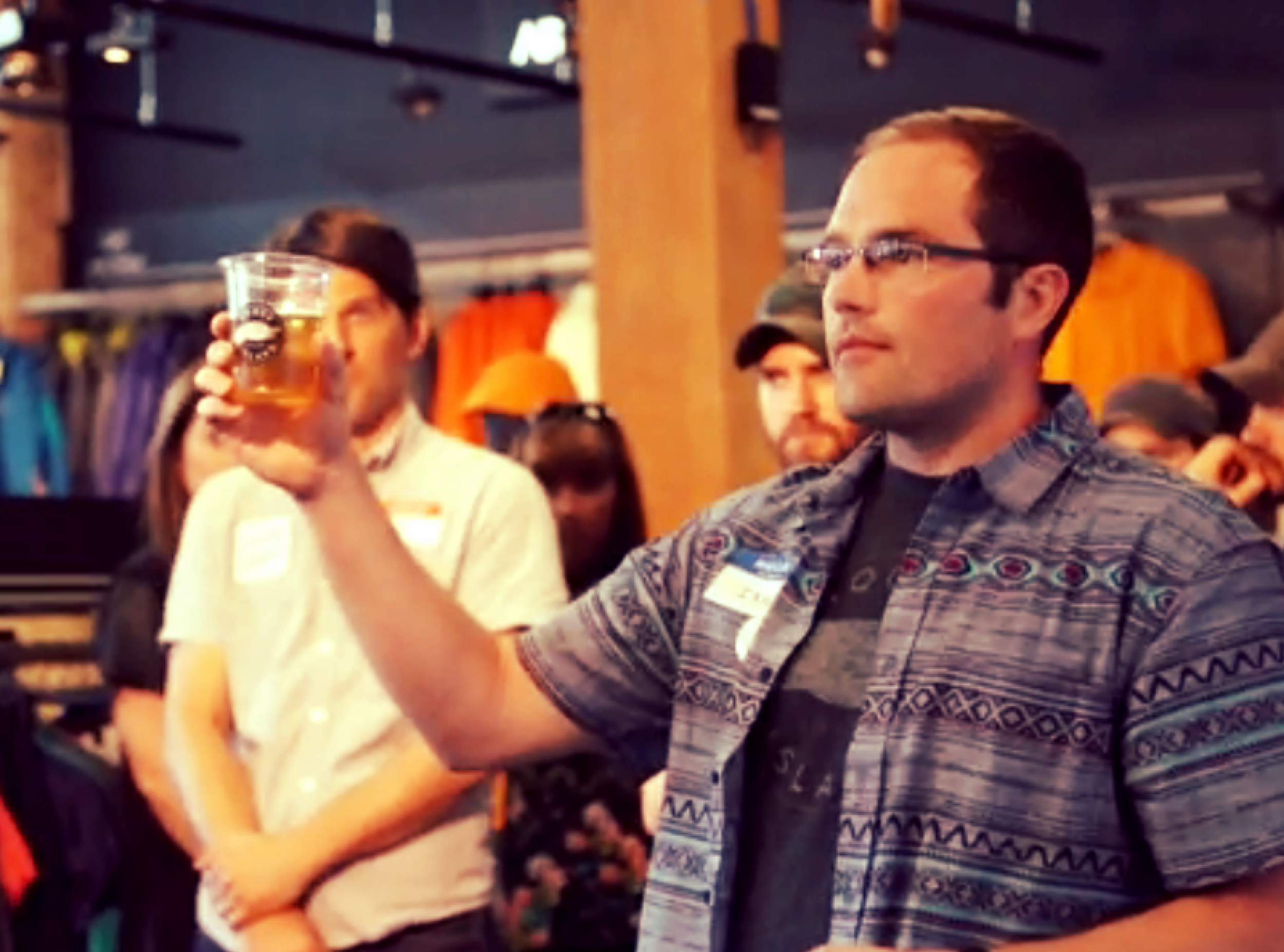 """""""Goose Beer is 95% Lake Michigan water after all..."""" -  Goose Island  Asst. Brewery Manager Ian Hughes"""