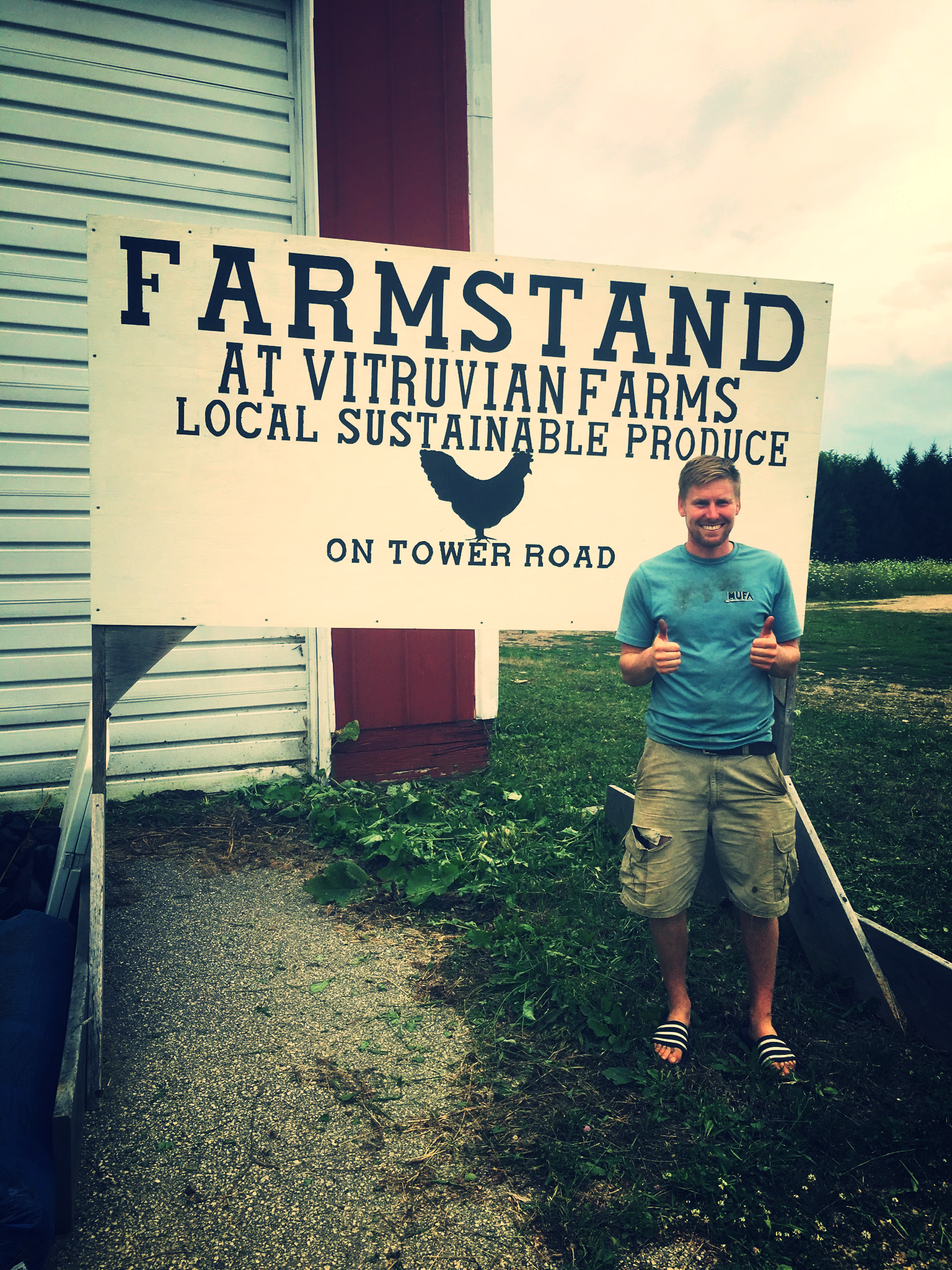 Tommy Stauffer, Co-Founder of  Vitruvian Farms  brought fresh local produce to the event and encouraged guests to think about food as an immersive experience.