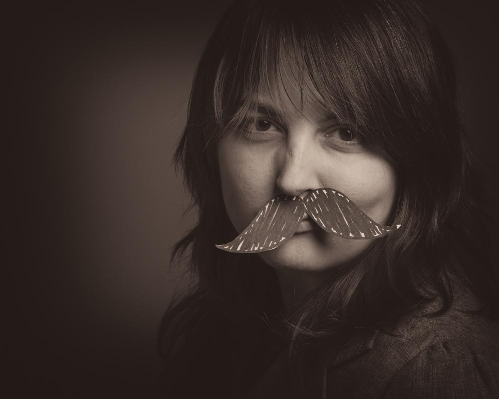 Movember stache 9