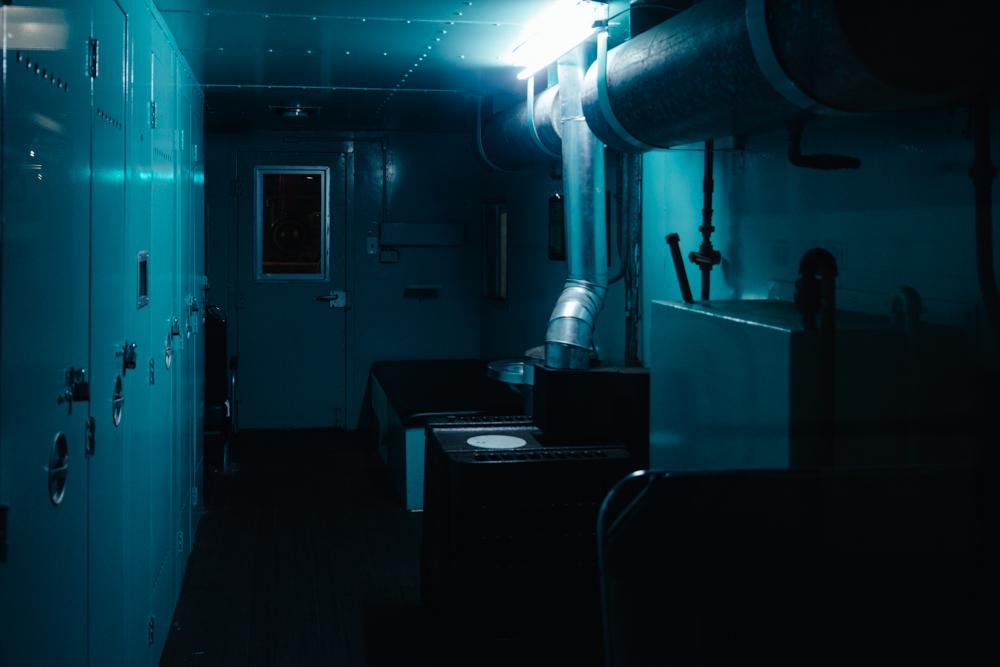 Subway Blue Room