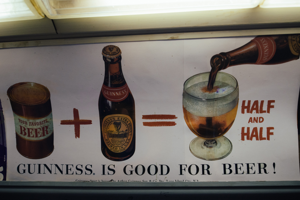 Vintage Subway Guinness