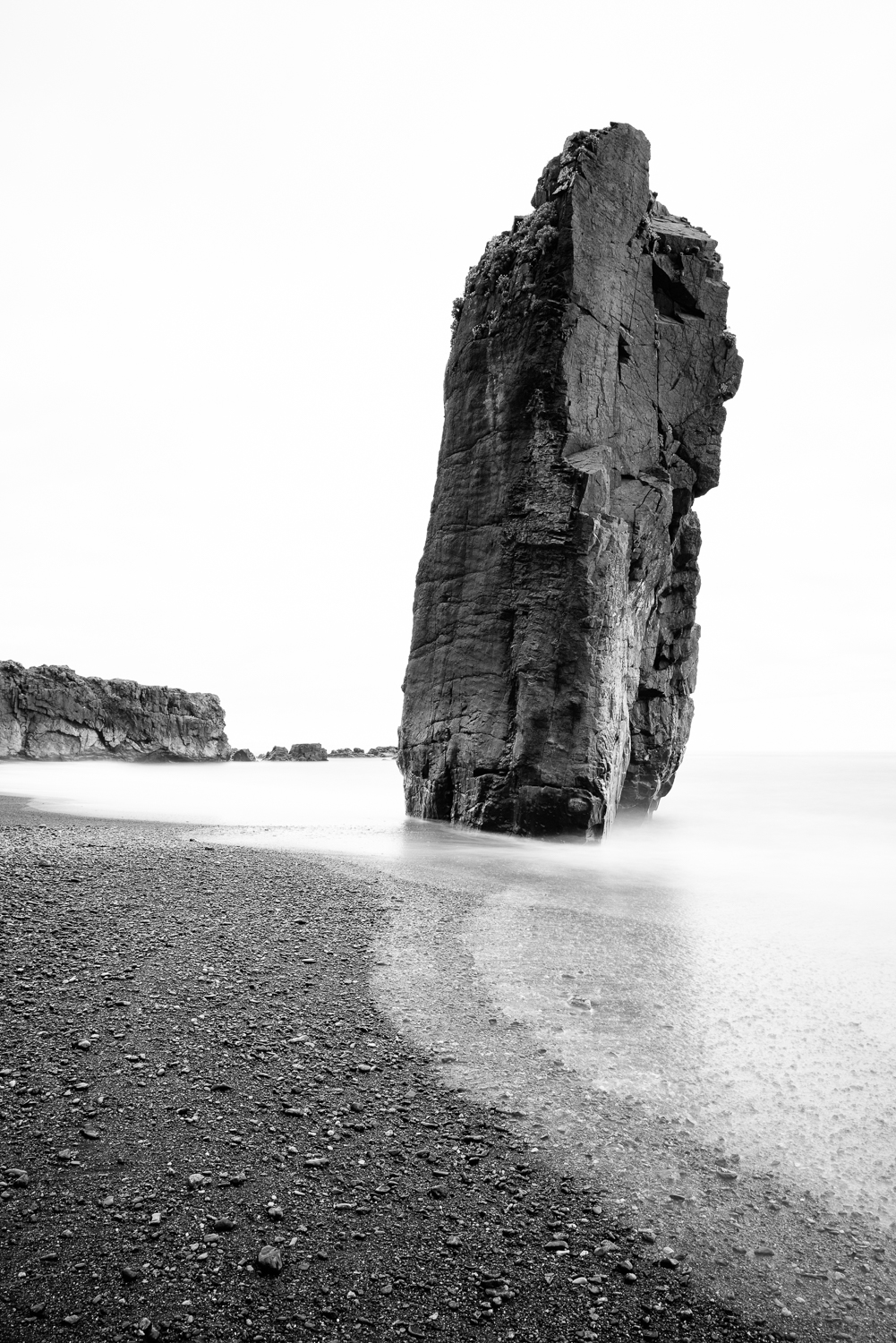 Leaning rock of Iceland?