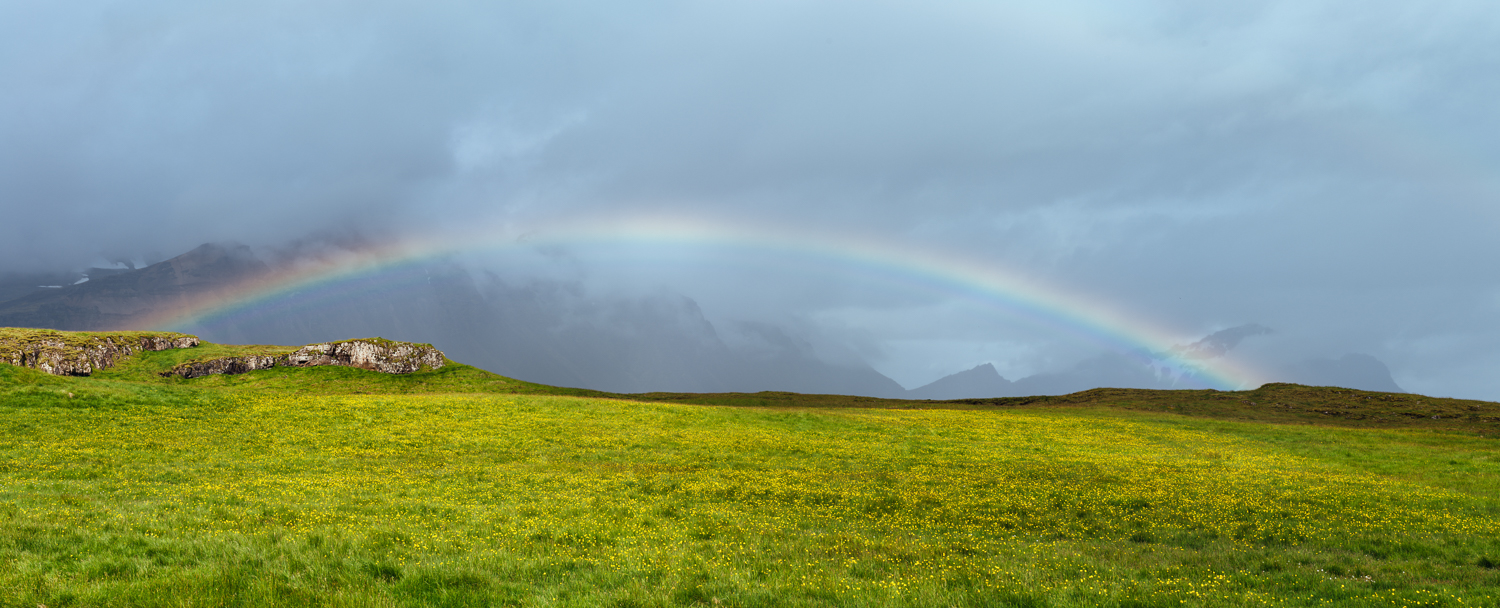 Click on the image for a larger version of the rainbow panorama