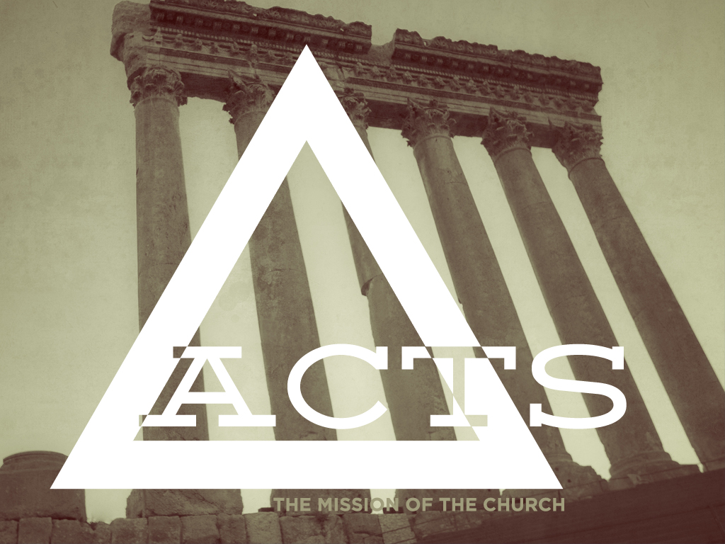 The Acts of The Apostle is the story of the birth of the church that Jesus said he would build. It's one of the most exciting historical narratives that details how 120 men and women, Jesus' first disciples, changed the world!