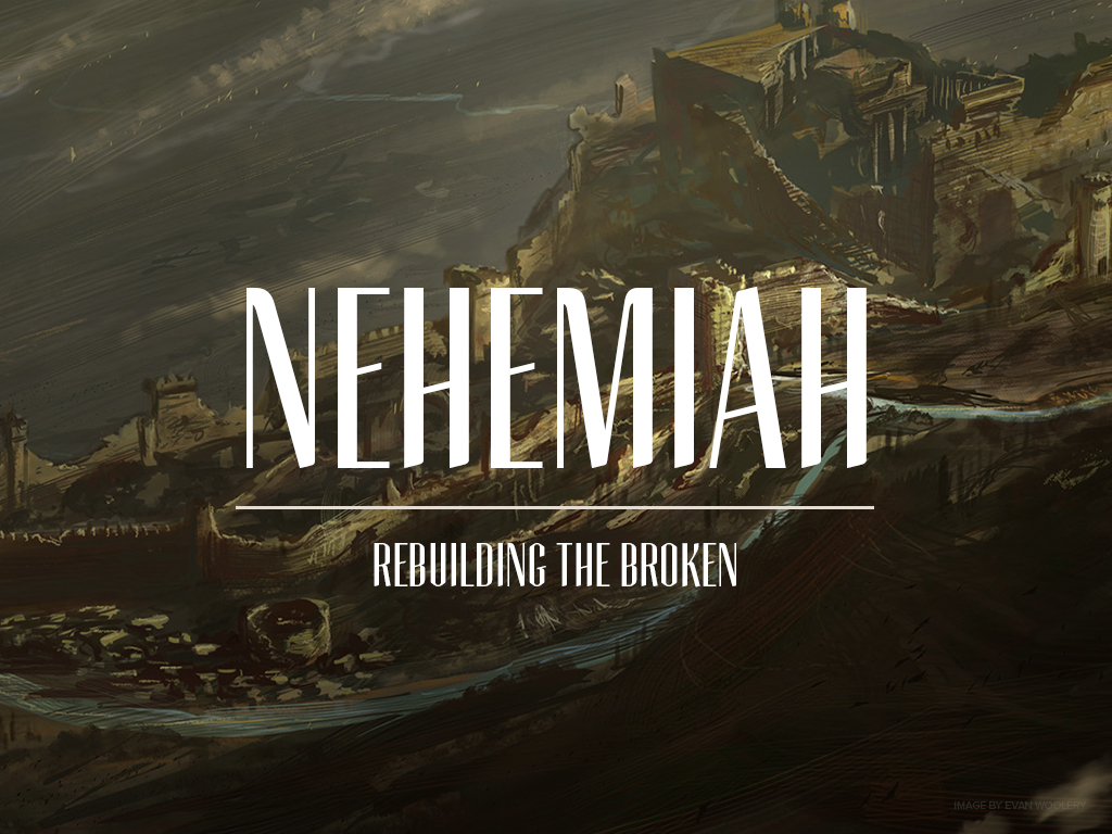 Nehemiah was a man who lived in the 5th century before the birth of Christ. He was the cup bearer to the King Artaxerces and the 16th book of the Old Testament that bears his name are his memoirs. His life is recorded and remembered not because he was a prophet, a priest or a king, but because of the heart that God gave him for a people and a place.