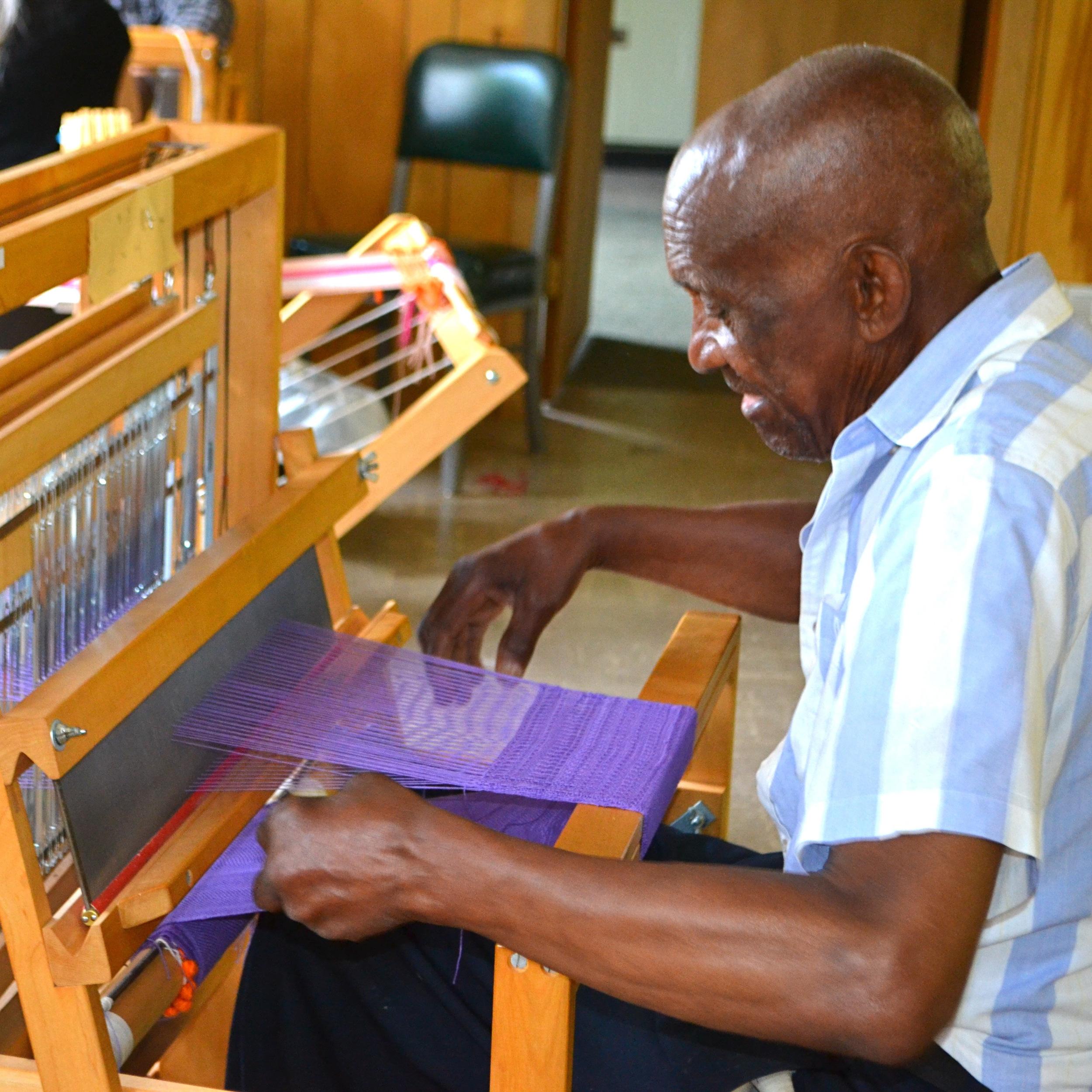 James Miller, Weaving, Loom - new aspect.jpg