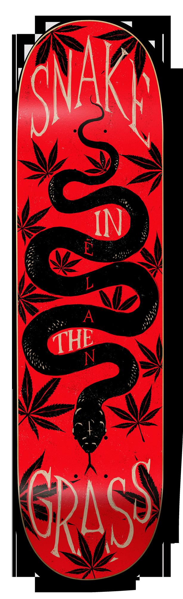 Élan, Snake in the Grass - Animal Series