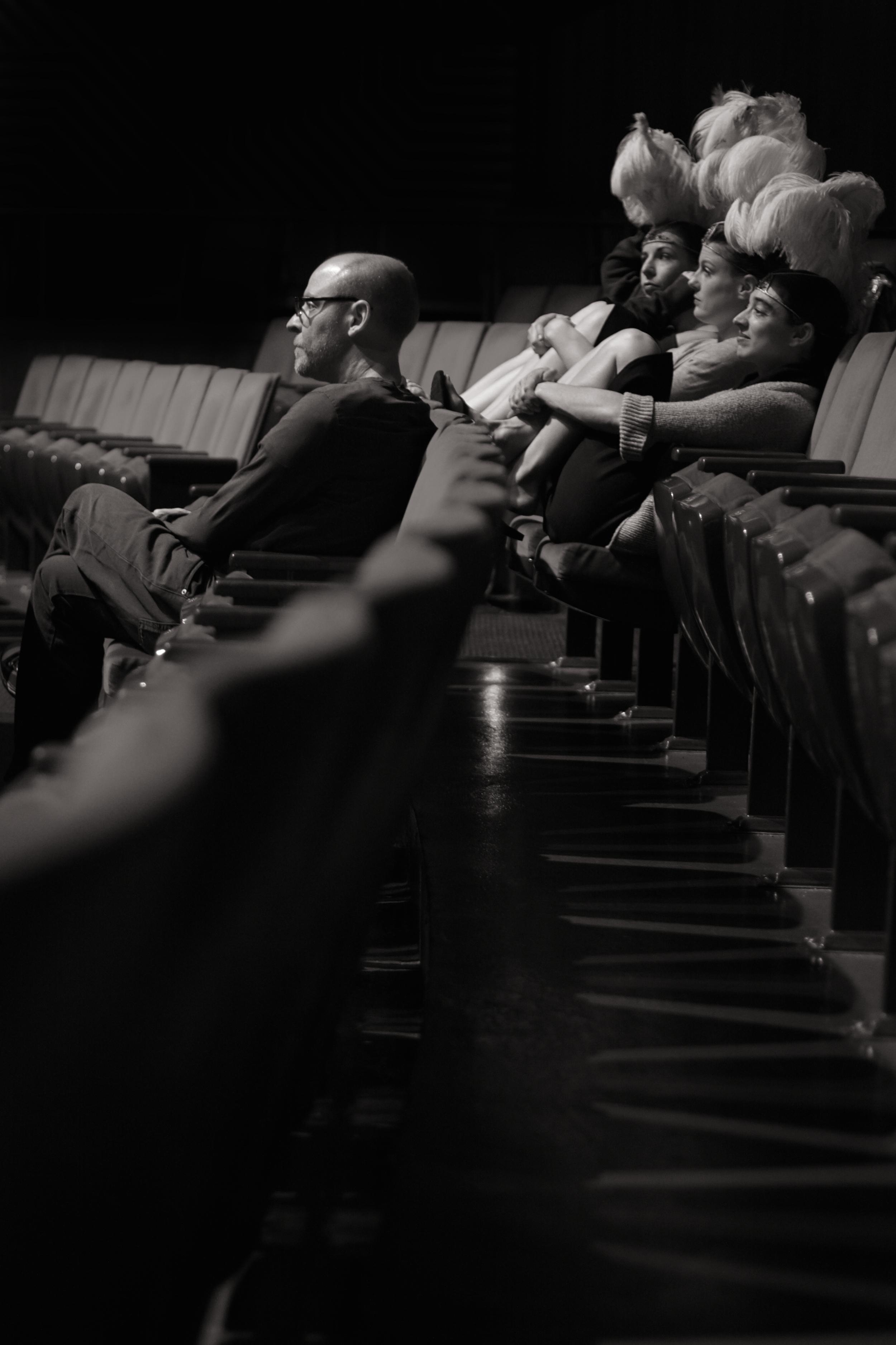 David Rakoff Waits With Dancers