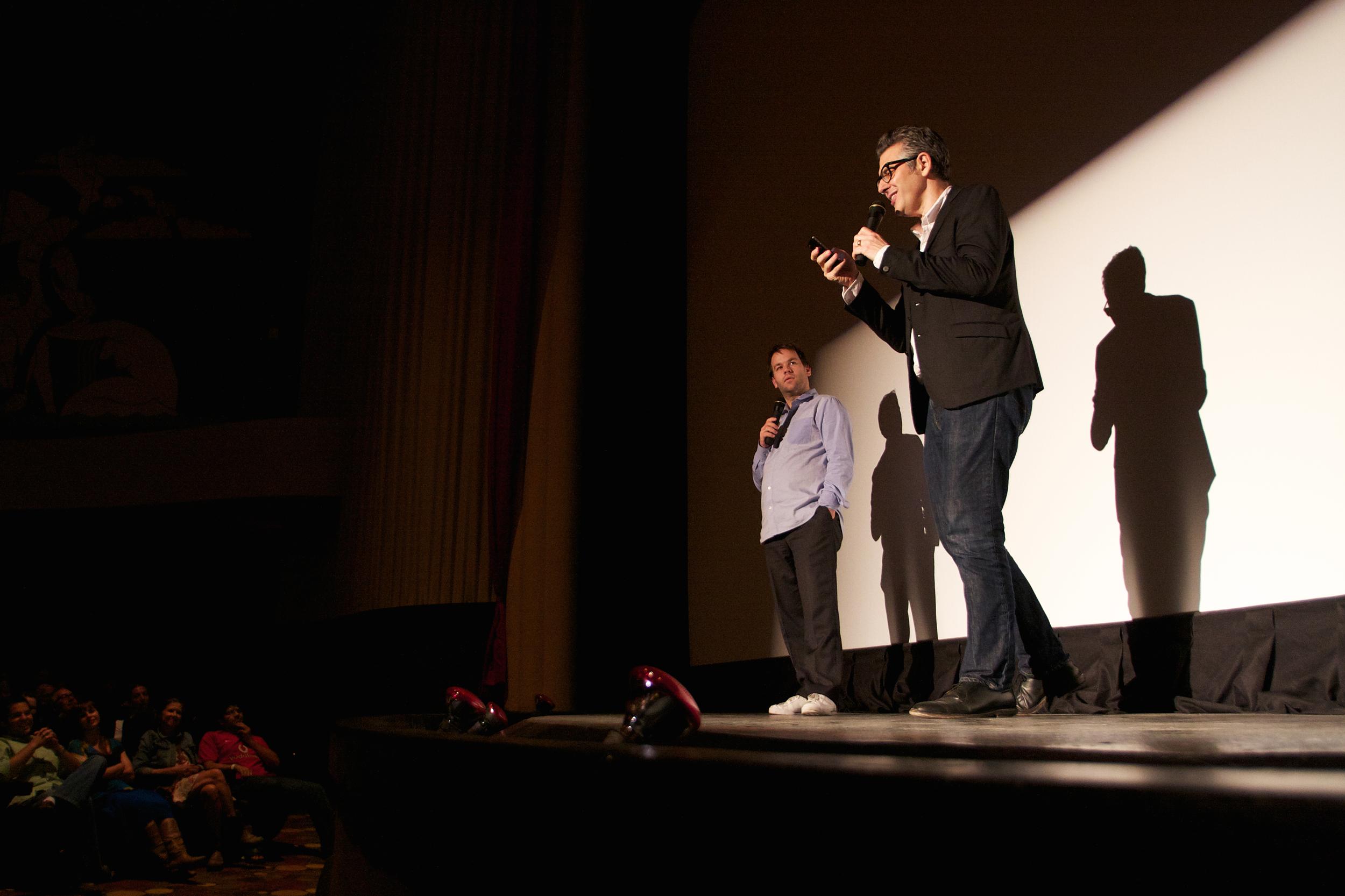 Mike Birbiglia and Ira Glass