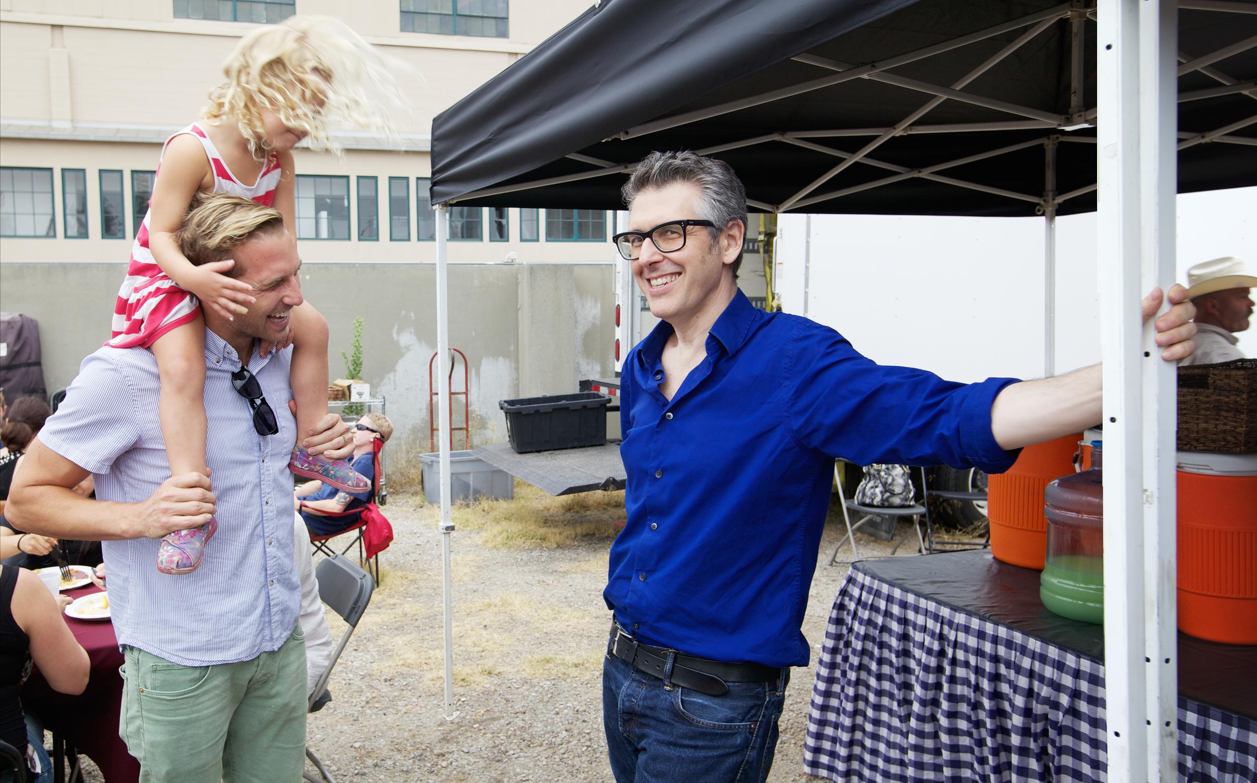 Ryan Hansen and Ira Glass