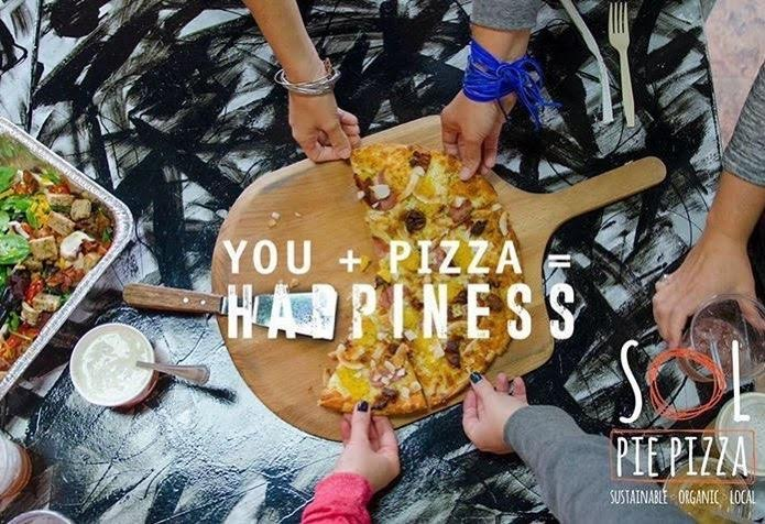 YOU + SOL PIE PIZZA= Happiness!