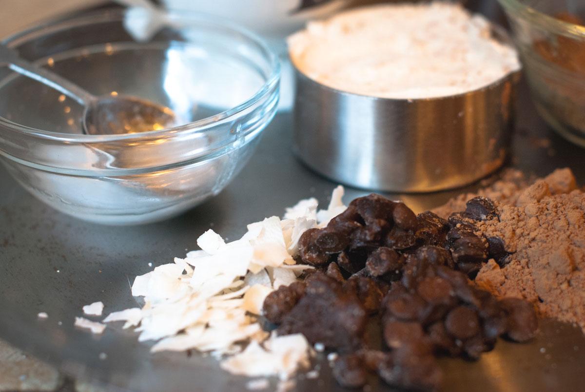 Established California | Grub | Five Minute Chocolate Mug Cake | Mixing