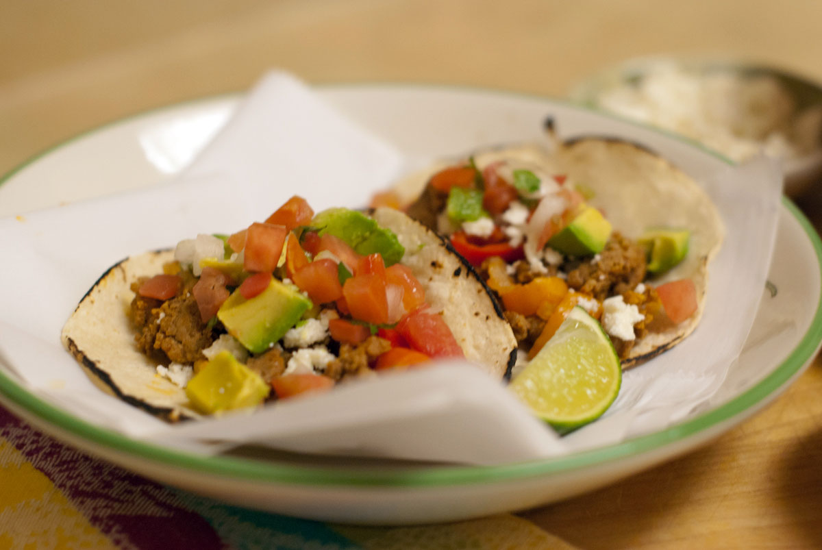 Established California | Grub | Turkey Soft Tacos | Serve
