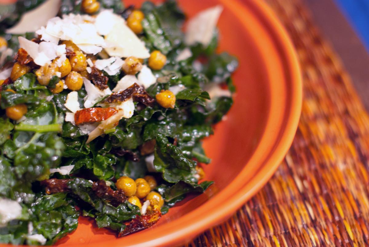 Established California   Grub   Kale Caesar Salad