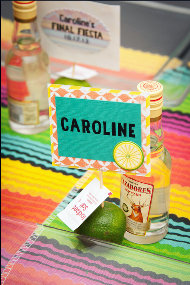 Established California | Party | Final Fiesta | Tequila Shot Place Cards