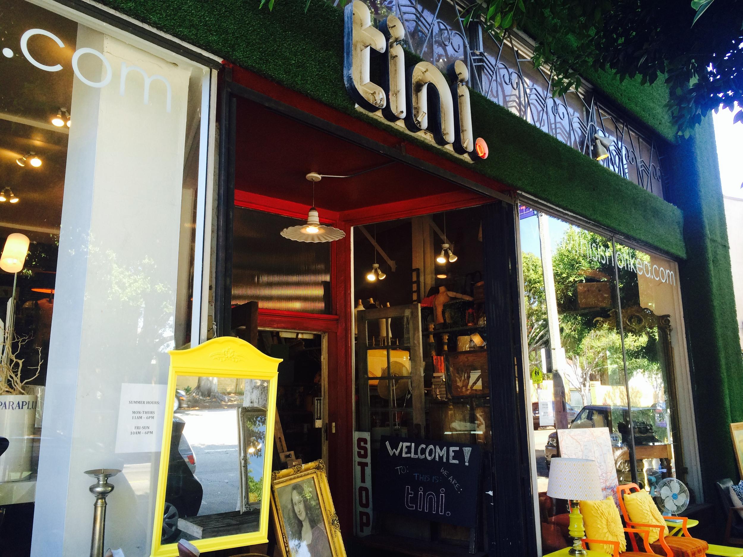 Established California | Habitat | Tini Storefront