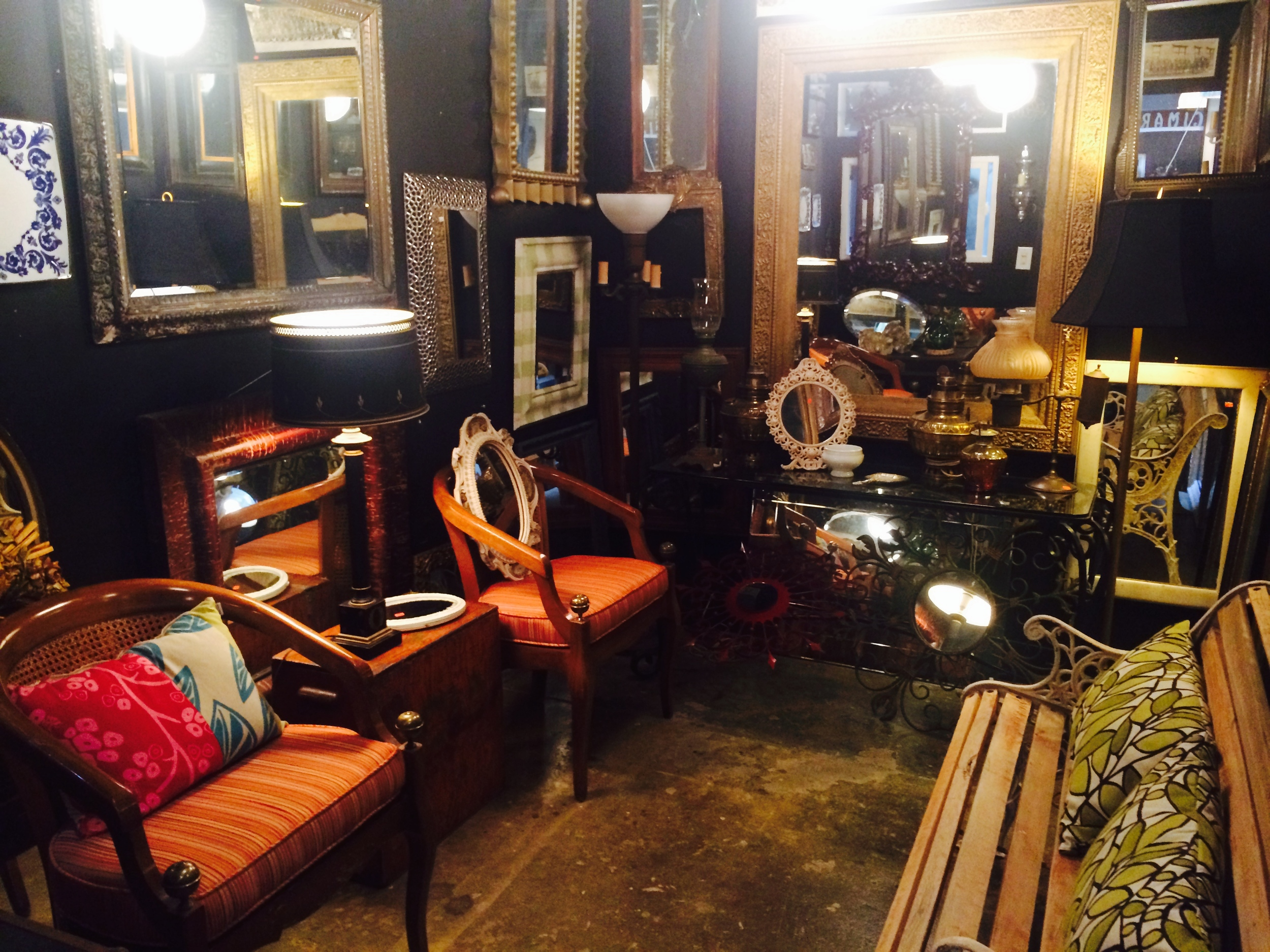 Established California | Habitat | Tini | Vintage Frames + Mirrors