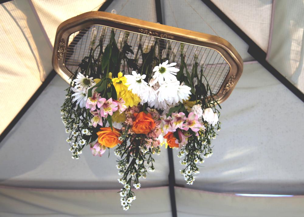 Established California | Party | Falling for Florals | Floral Chandelier Options