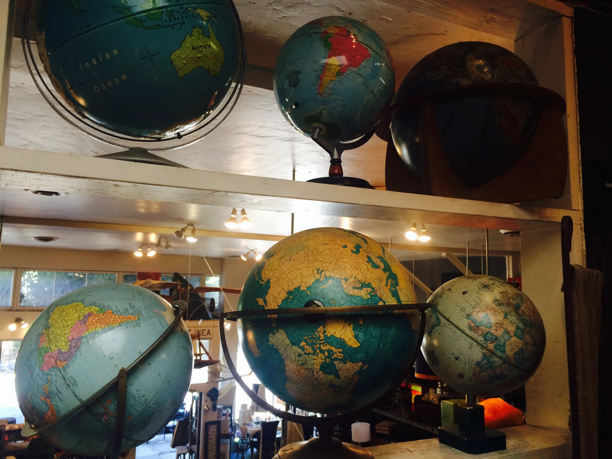 Established California | Habitat | Tini | Vintage Globes