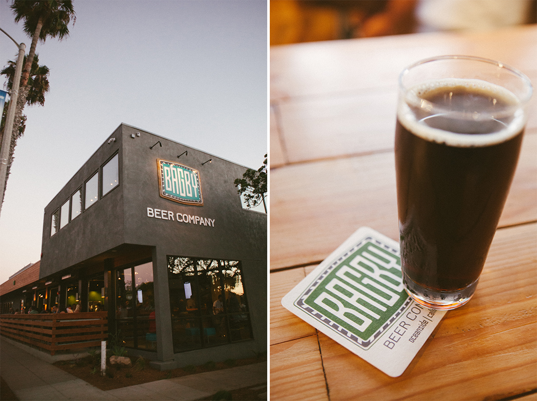 Established California | Grub | Bagby Beer Oceanside