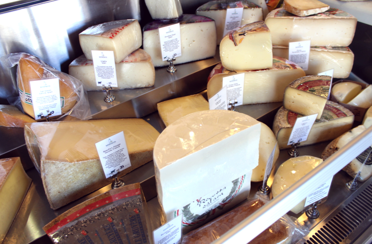 Established California | Grub | Milkfarm LA | Cheese Case