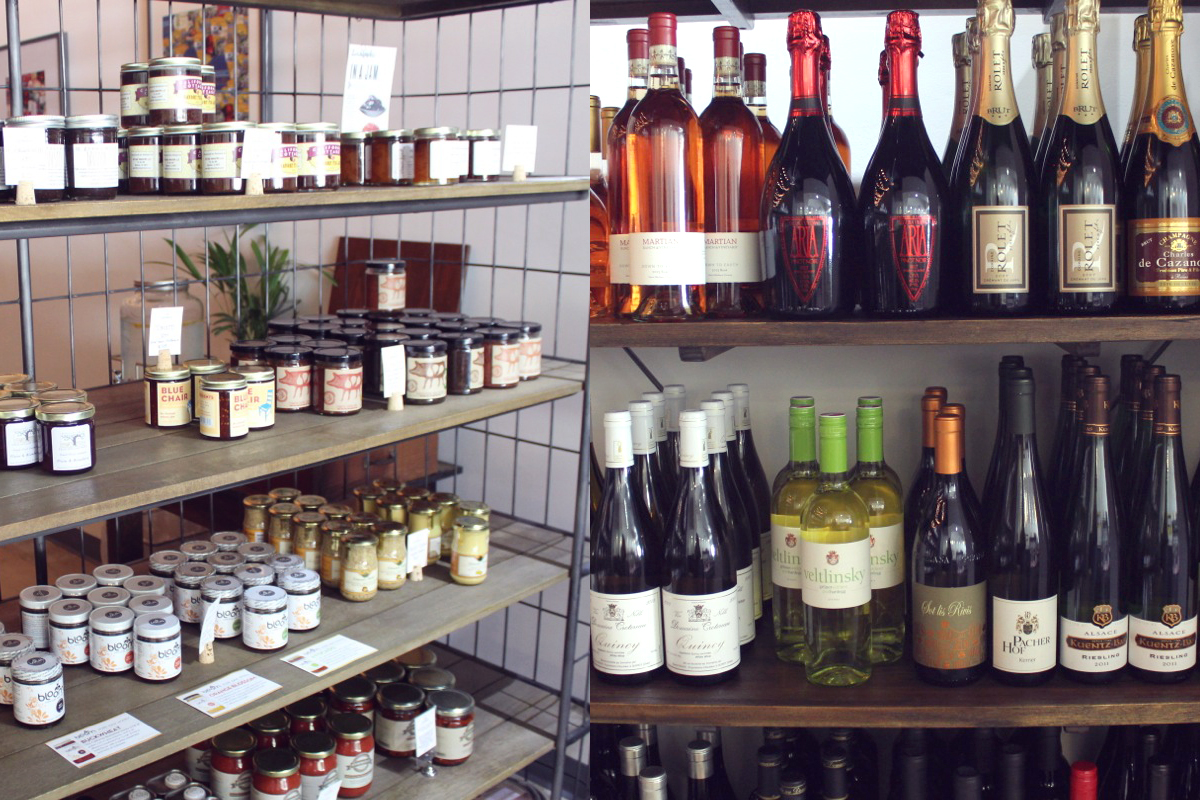 Established California | Grub | Milkfarm LA | Wine and Jam