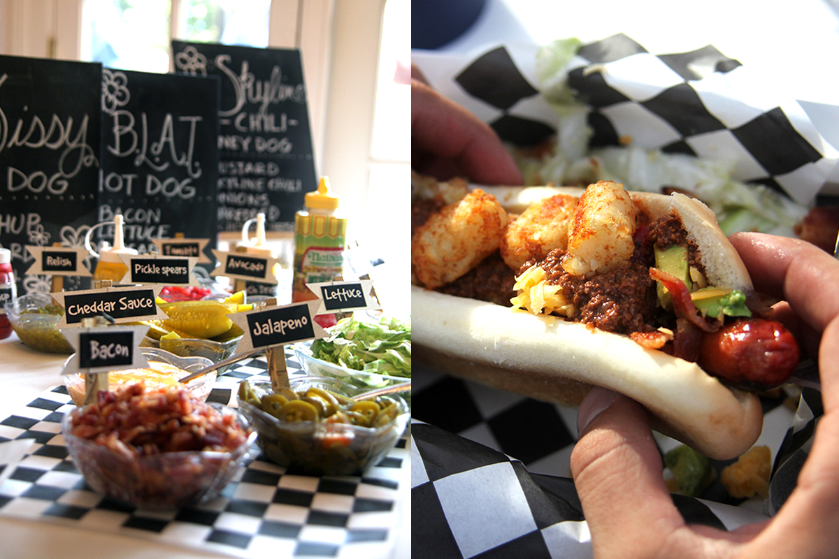 Established California | Party | I Do BBQ | Hot Dog Bar