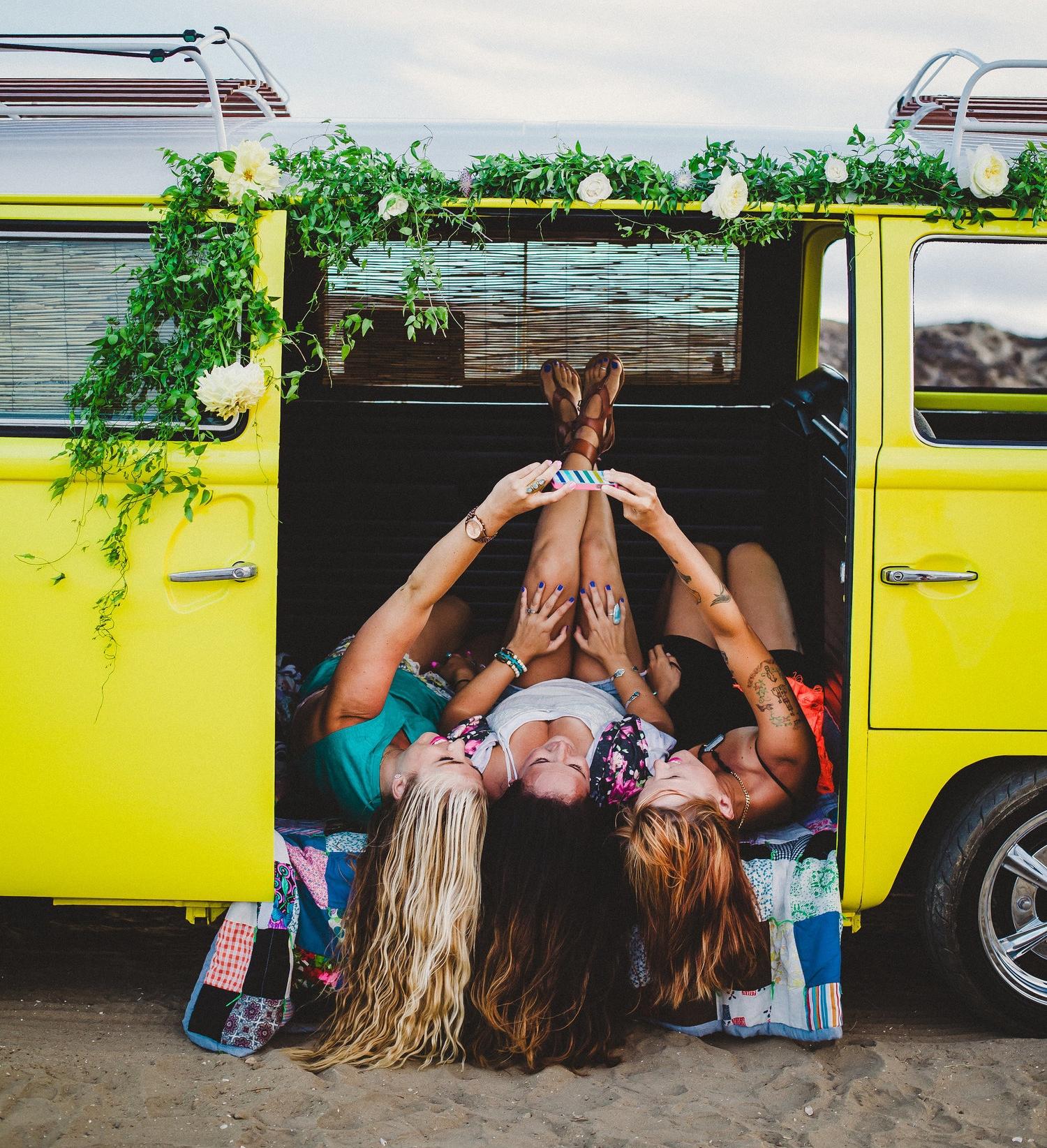 Established California: Fiesta Island Selfie
