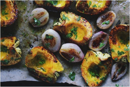 With Food and Love: Roasted Acorn Squash