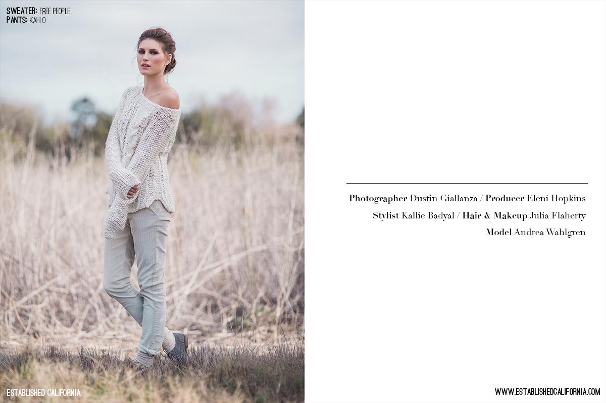 Boomer Canyon Fashion Editorial | Established California | Page 2