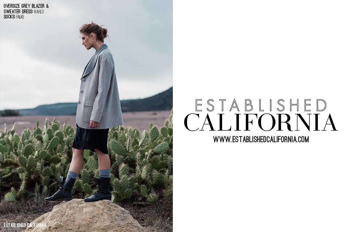 Boomer Canyon Fashion Editorial | Established California | Wordmark
