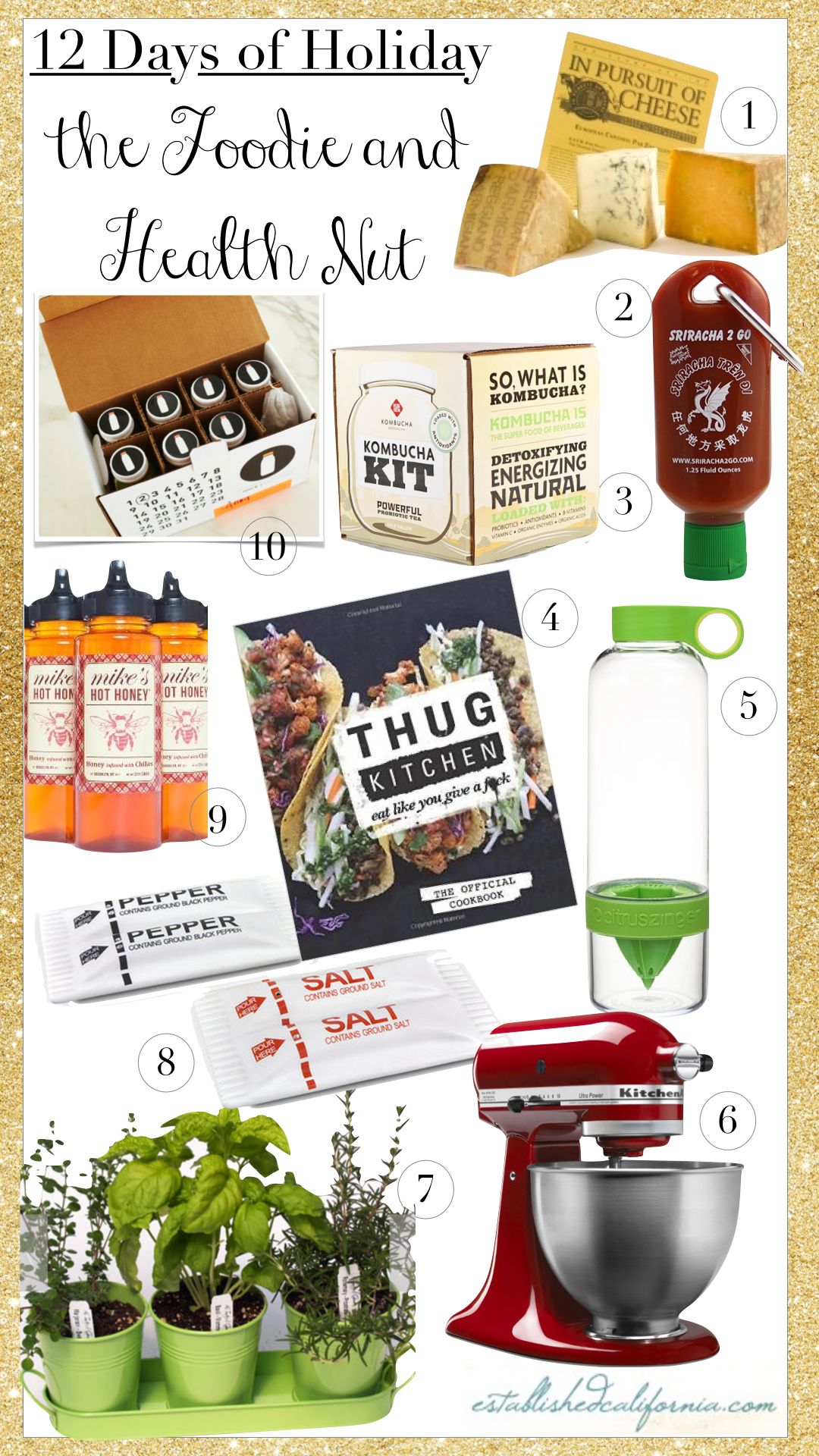 Gift Guide for the Foodie and Health Nut
