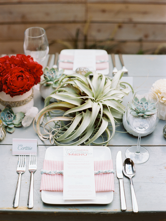 IBT personalized table setting