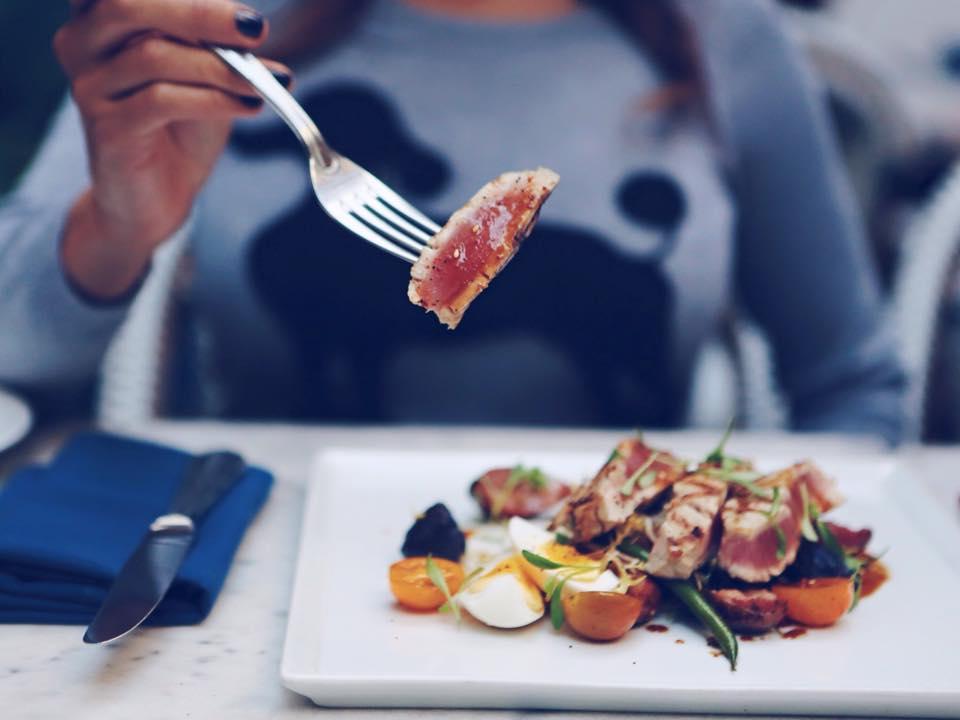 Ooh La Nicoise Spotlight featured on Established California - Palihouse Salad