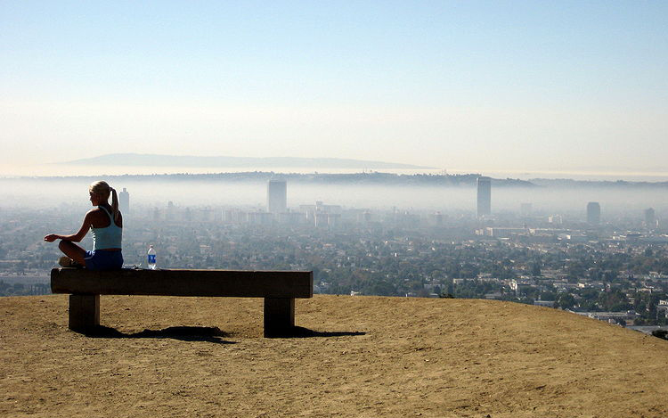 Runyon Canyon Park, Los Angeles, USA