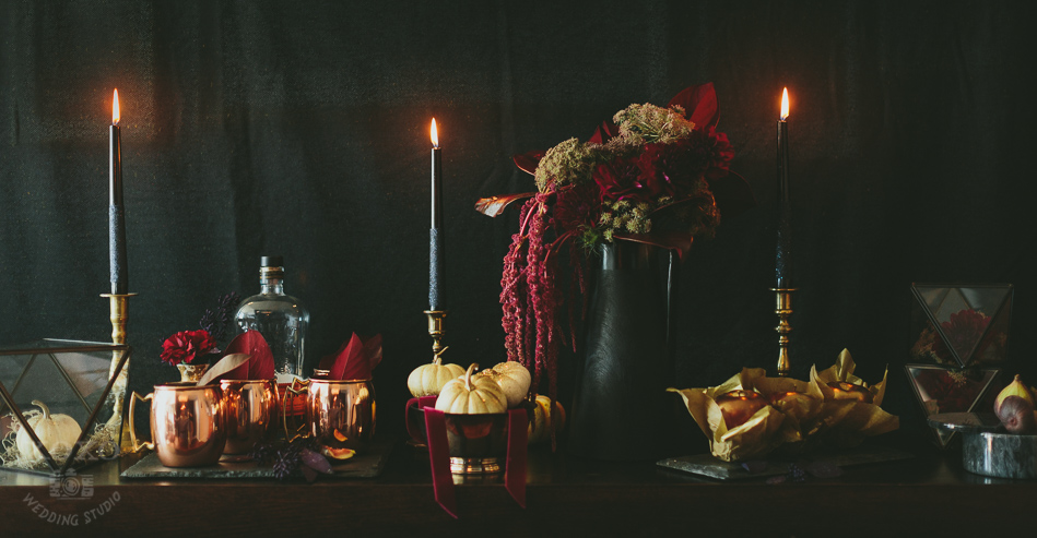 Established California :: Hosting A Hauntingly Beautiful Halloween Dinner Party