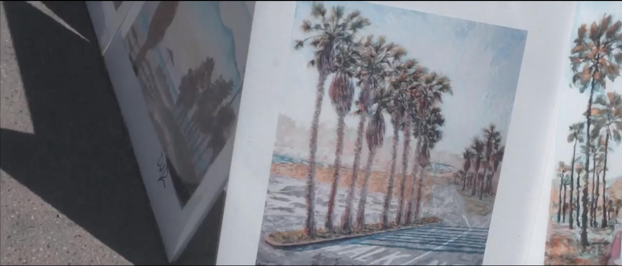 Established California California Dreaming Venice Beach Art