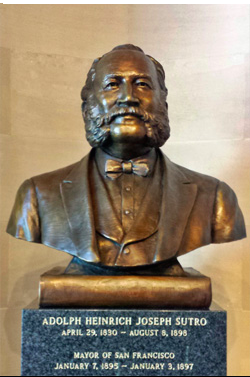 Completed bronze sculture(Located in SF City Hall)