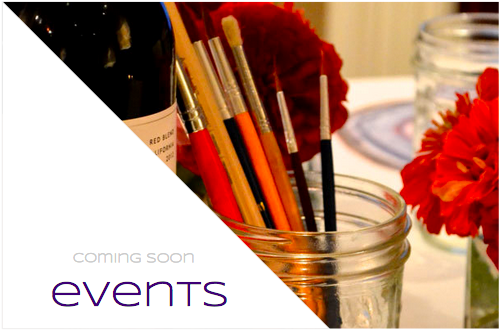 wine & painting, birthday parties, and more