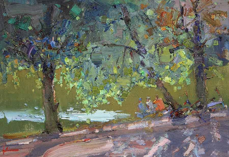 Slava Korolenkov Workshop at Art Academia