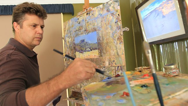 Colley Whisson Workshop at Art Academia