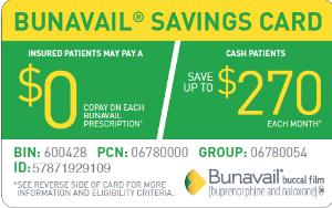 Bunavail Savings Card